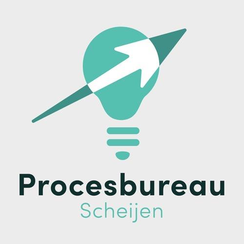 Logo procesbureau Scheijen